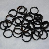 Кольца из агата (граненые)