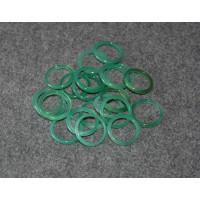 Кольцо из зеленого агата