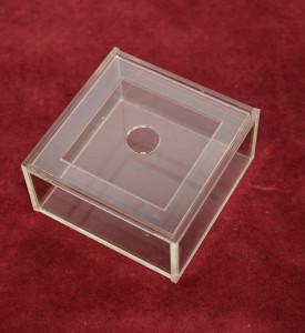 Коробка пластиковая с крышкой