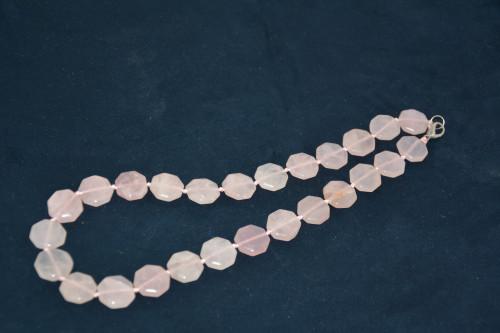 Бусы из розового кварца - цена 270.00р.