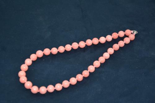 Бусы из розового кварца - цена 225.00р.