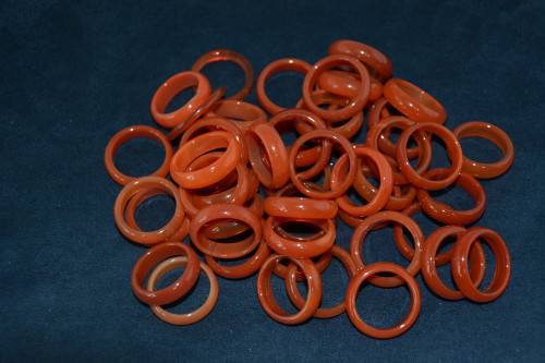 Кольцо из сердолика - цена 21.00р.