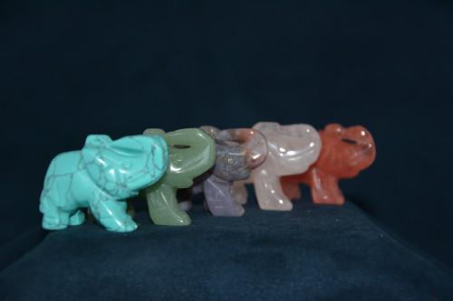 Слон из камня в ассортименте - цена 160.00р.
