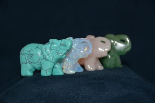 Слон из камня в ассортименте - цена 290.00р.