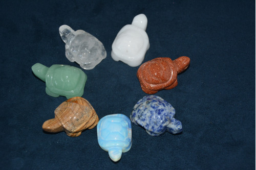 Черепаха из камня в ассортименте - цена 160.00р.