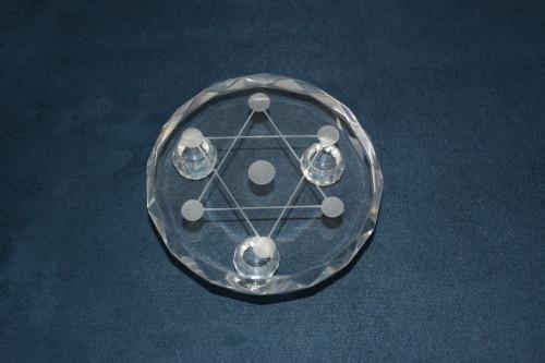 Подставка из стекла для шариков - цена 300.00р.